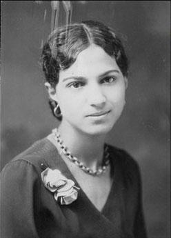 a b-and-w picture of Eliza Atkins Gleason